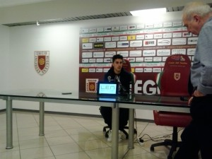 Paolo Frascatore nel post match