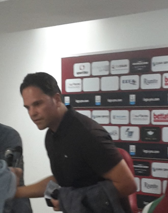 Mike Piazza in sala stampa